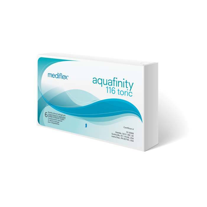 Mediflex Aquafinity 116 Toric